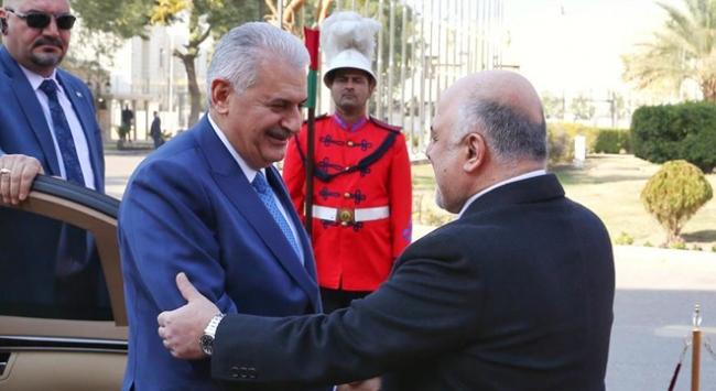 Başbakan Binali Yıldırım Irak'ta