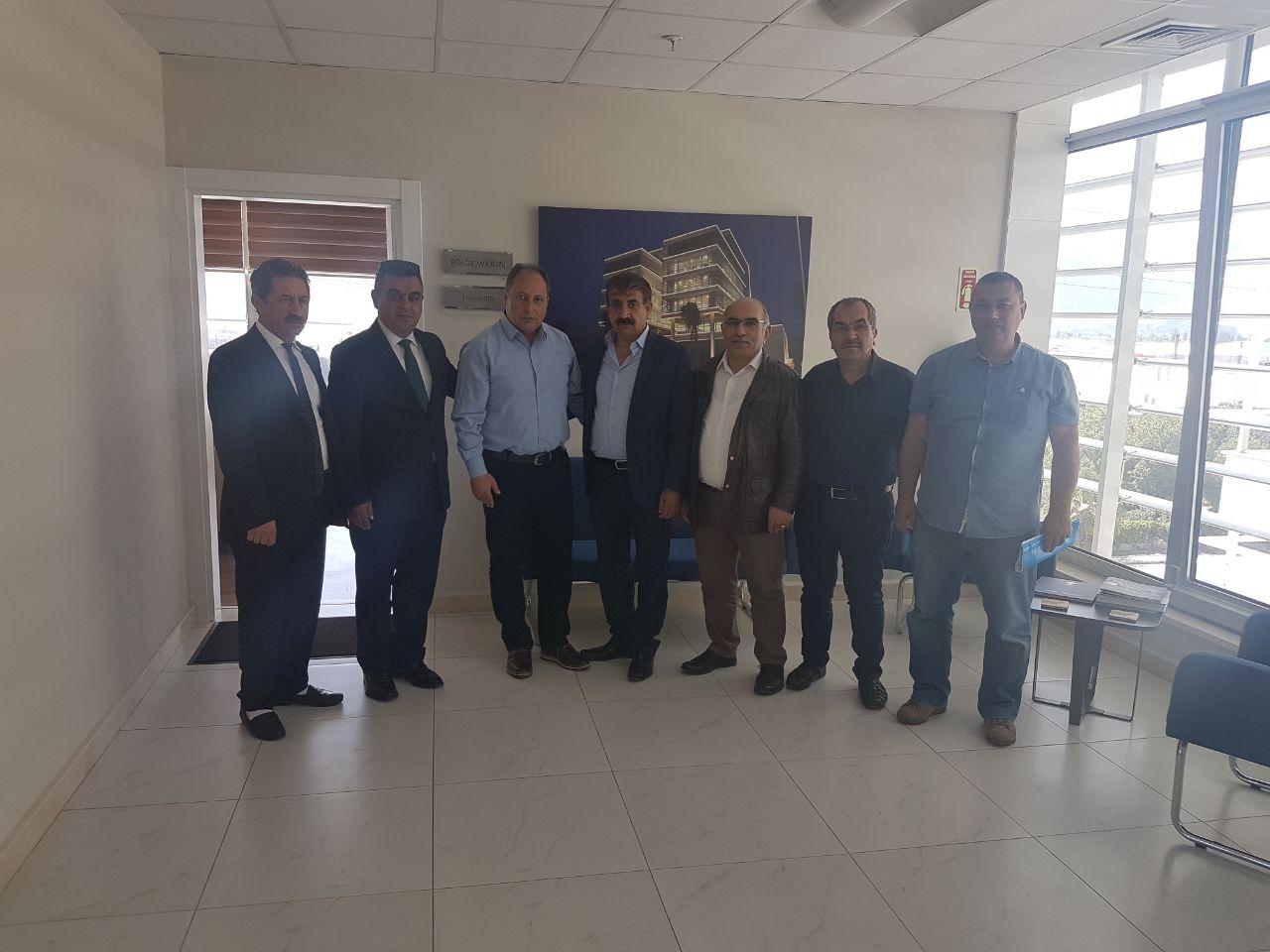 Antalya OSB Müdürü'ne Ziyaret