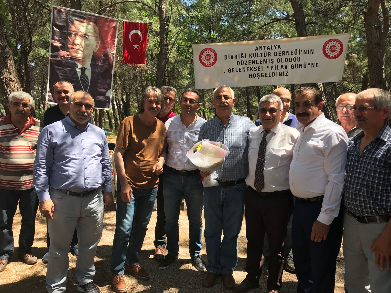 Antalya Divriği Kültür Derneği'nin Düzenlemiş Olduğu Geleneksel Pilav Günü
