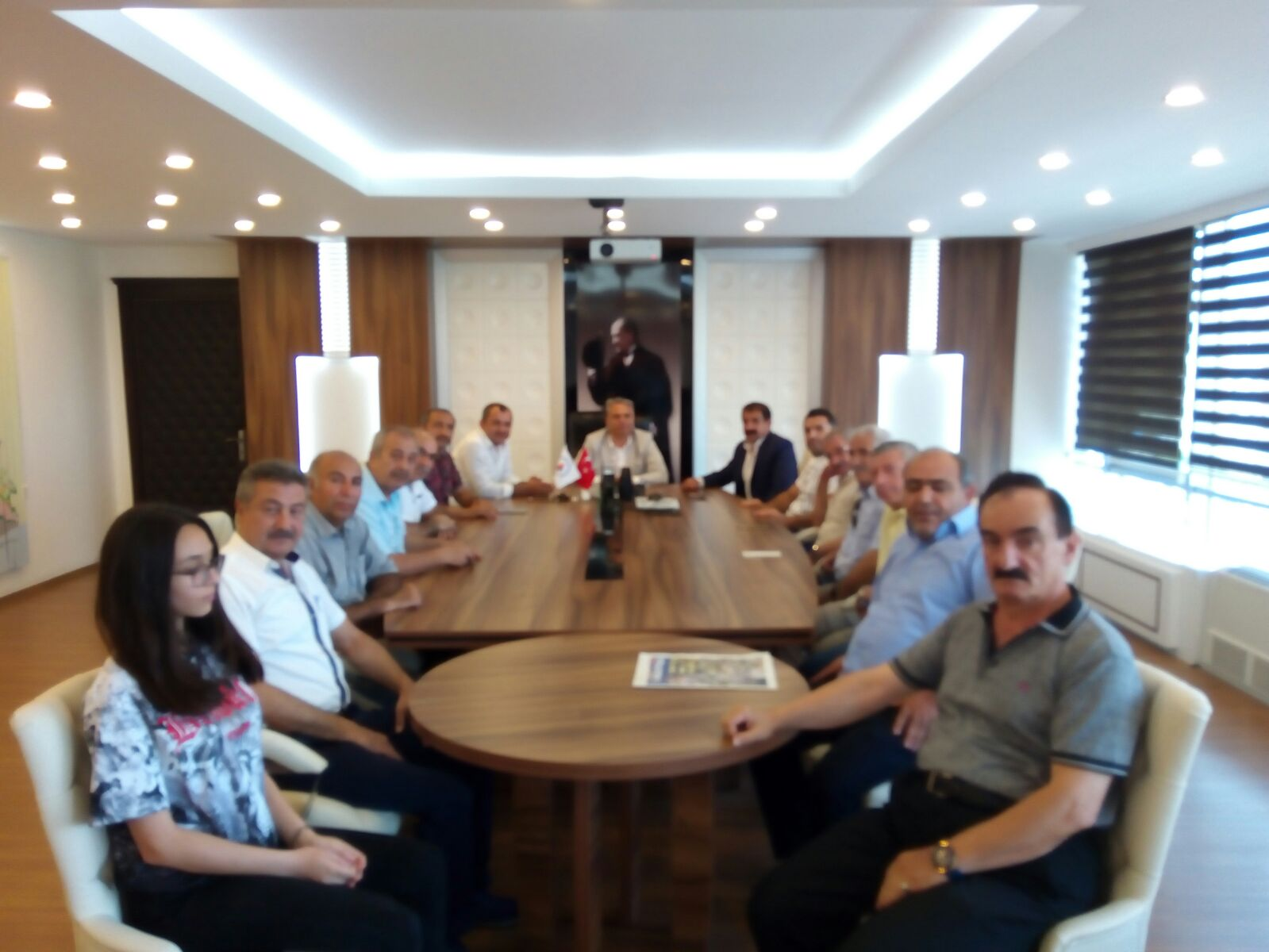 Muratpaşa Belediye Başkanına Ümit UYSAL'a Ziyaret